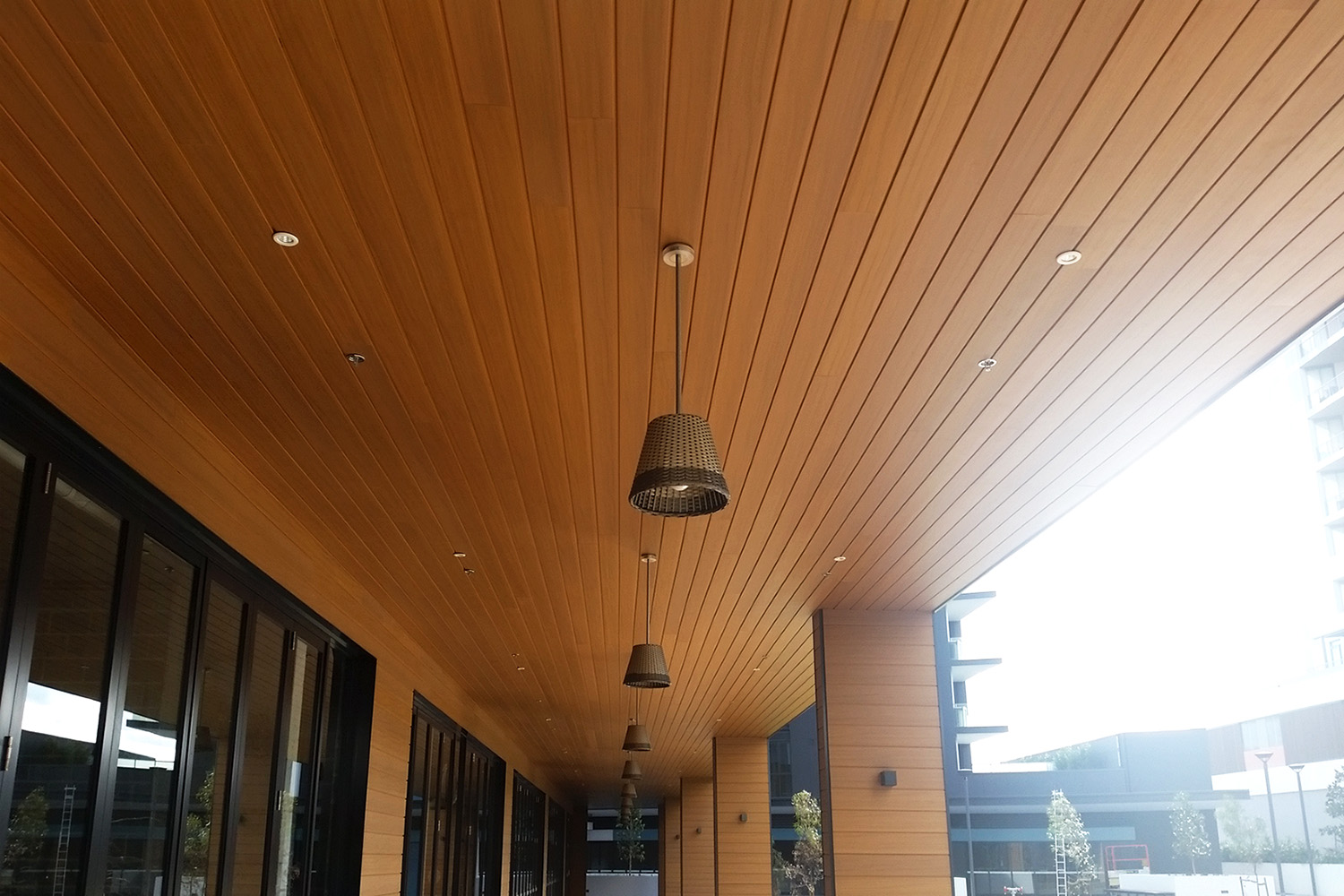 Soffit Ceiling Ceiling & Soffit Solution - Composite Timber Decking
