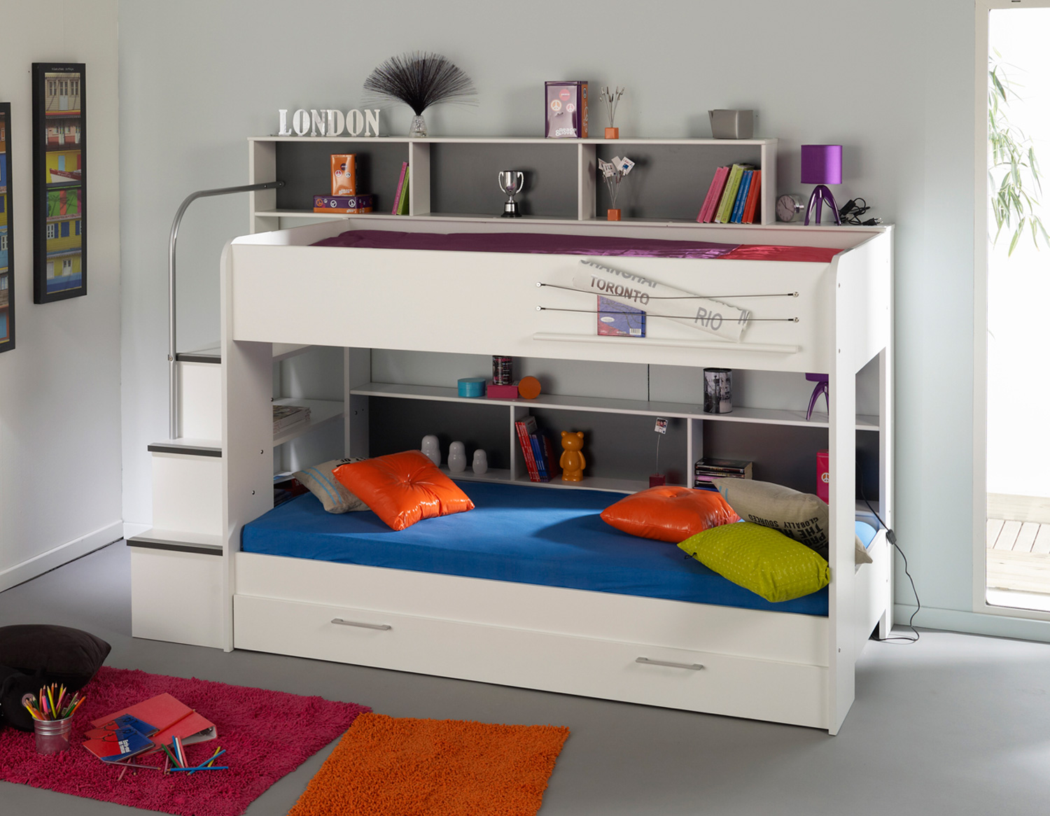 Double Loft Bed For Kids 8 Stunning Bunk Beds For Kids Design Inoutinterior