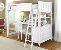 Loft Bed With Desk Designs & Features  InOutInterior