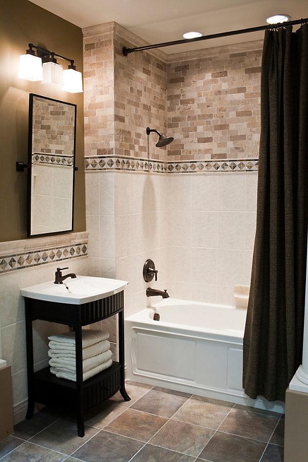 Stunning Modern Bathroom Tile Ideas  InOutInterior