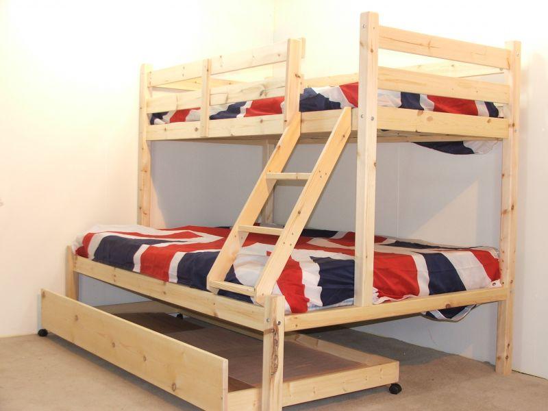 3 Sleeper Bunk Beds With Storage Listitdallas