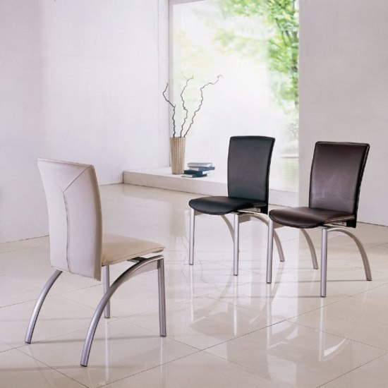 contemporary dining chairs design modern room