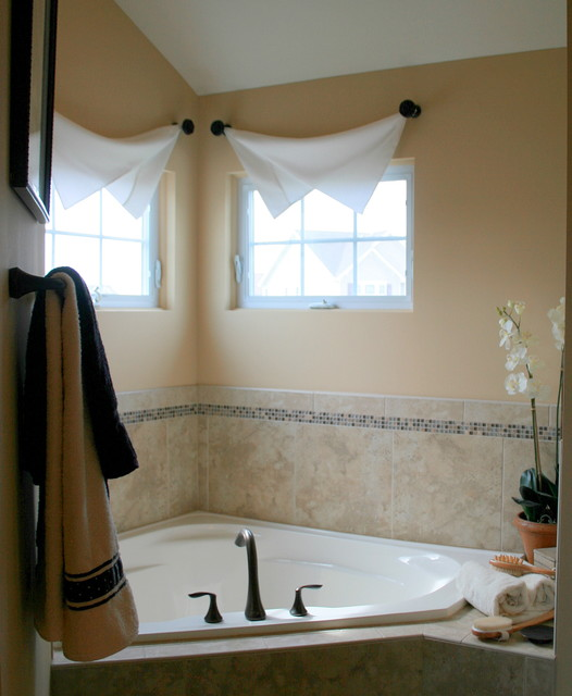10 Modern Bathroom Window Curtains Ideas » InOutInterior - bathroom window curtain ideas