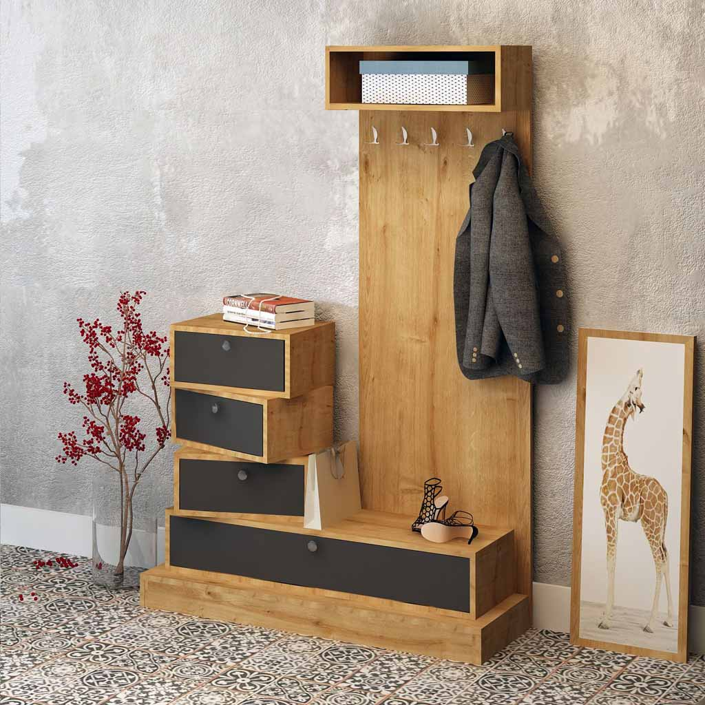 Mobili Rovere Mobile Ingresso Frida The Furniture Project Rovere