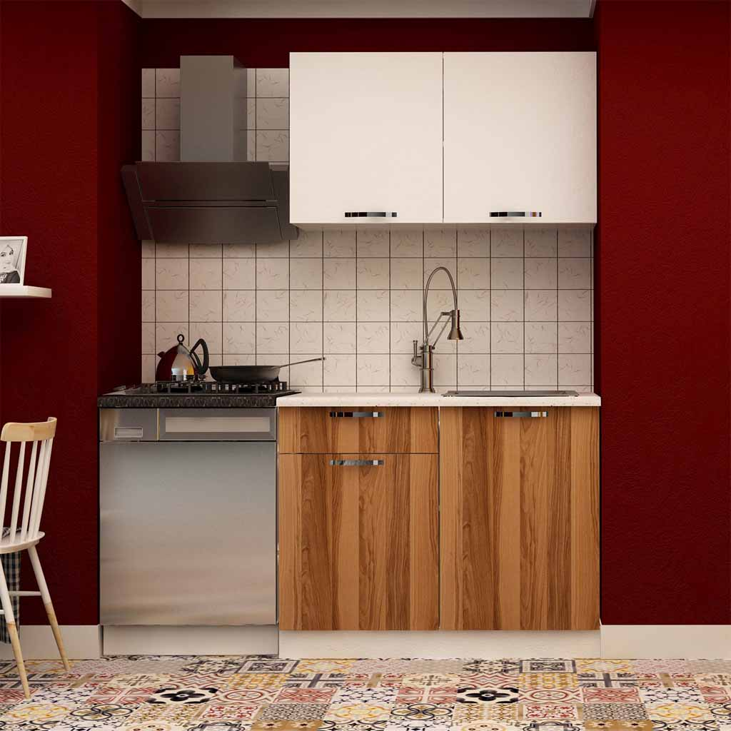 Mobile Cucina Noce Mobile Cucina Albus The Furniture Project Noce
