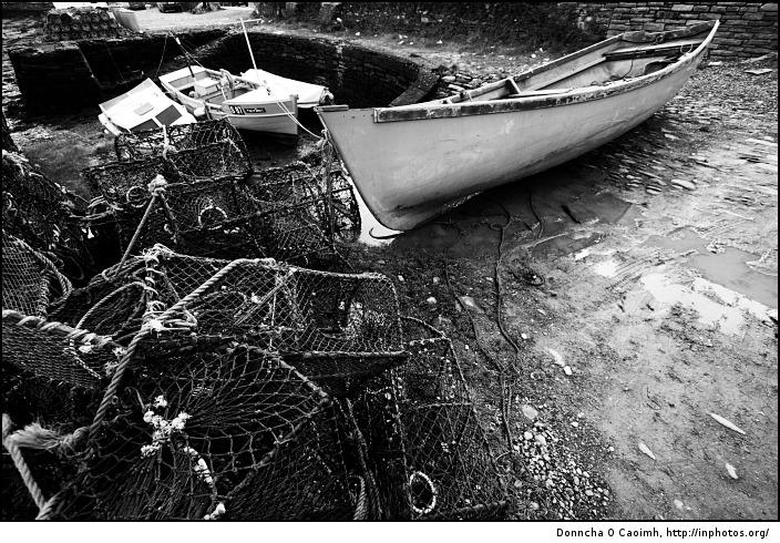 boats and fishing tackle