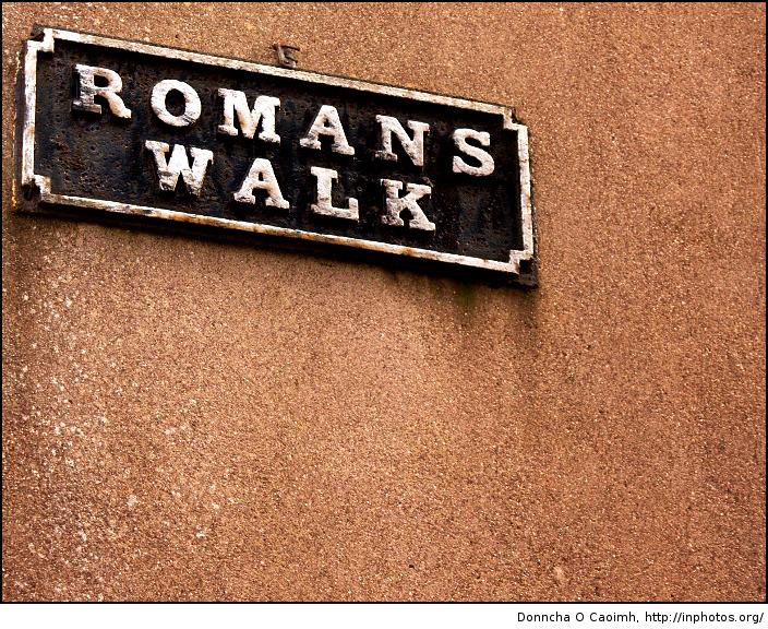 romans walk