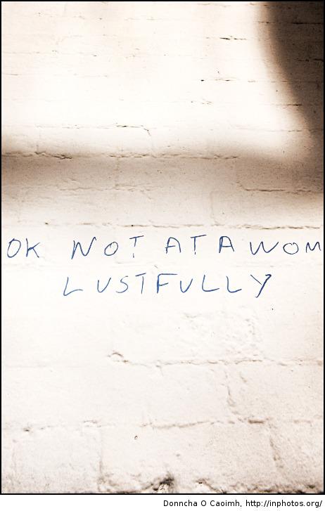 lustfully
