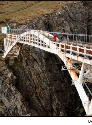 Bridge to Mizen Head