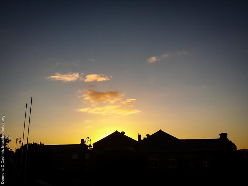 Sunrise over Blarney