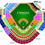 Comerica Park Seating Chart- Detroit Tigers