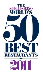 50 Best Restaurant 2011 logo