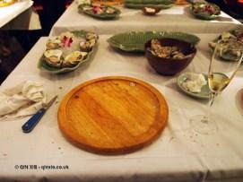 After oyster shucking at Patara, Greek Street