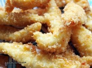 Lemon sole goujons at Fish in a Day, Food Safari