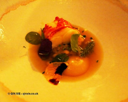 Lobster and chamomile, Mauro Colagreco and Nuno Mendes at Viajante