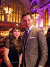 Emanuele Barrasso with Rachel Khoo at the World's 50 Best Restaurants 2012