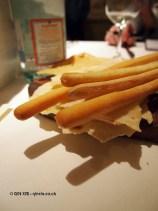 Breadsticks, Nino Franco at Babbo, Mayfair