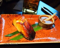 Roasted black cod with lemongrass miso, Buddha Bar, London