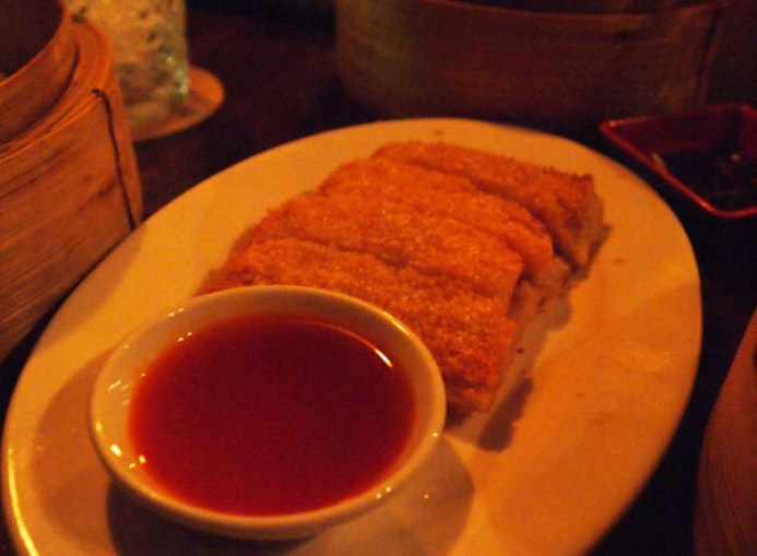 Sesame poppy lobster-prawn toast, Opium, Soho