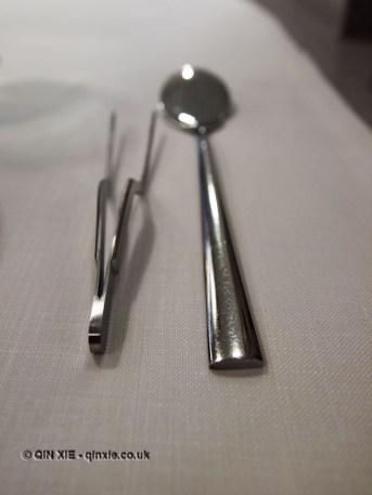 Cutlery, Azurmendi, Vizcaya