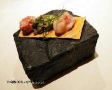 Smoked toast, 100% lobster, Mugaritz, Errenteria
