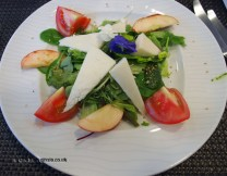Valdemar cheese salad, Finnish cooking with Tomi Laurila, Helsinki