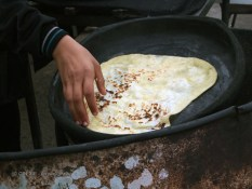 Flat bread, Tunisia