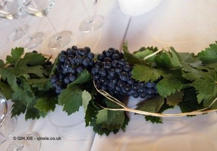 Grapes on the table, Beronia, Rioja
