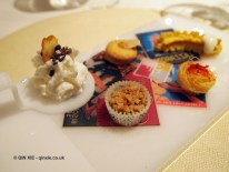 Small salty pastries, Enoteca Pinchiorri, Florence