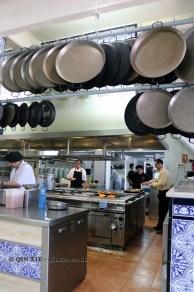 Paella pans, La Pepica, Valencia