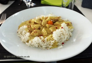 Chicken curry at Caravano, Food in Baden-Württemberg