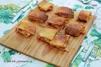 Ham pastry, Quinta de Sao José, Douro Valley