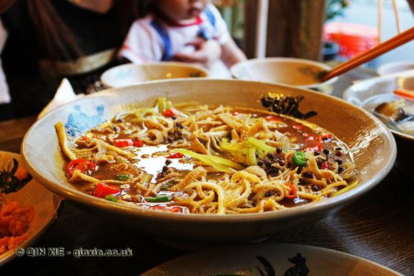 Ren Min Shi Tang (People's Public Restaurant), Chengdu, dinner