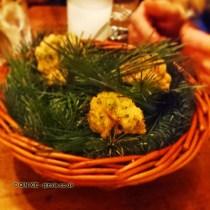 Buttermilk chicken, with Yeni Raki at The Clove Club