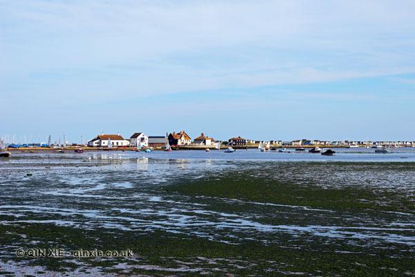 Mudeford coastline, Dorset