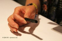 Black olive tuille, Azurmendi