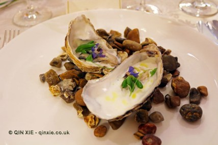 Oysters, horseradish and borage, Elena Reygadas at the Mexican Embassy in London