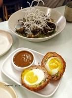 Scotch egg at Jidori, Dalston