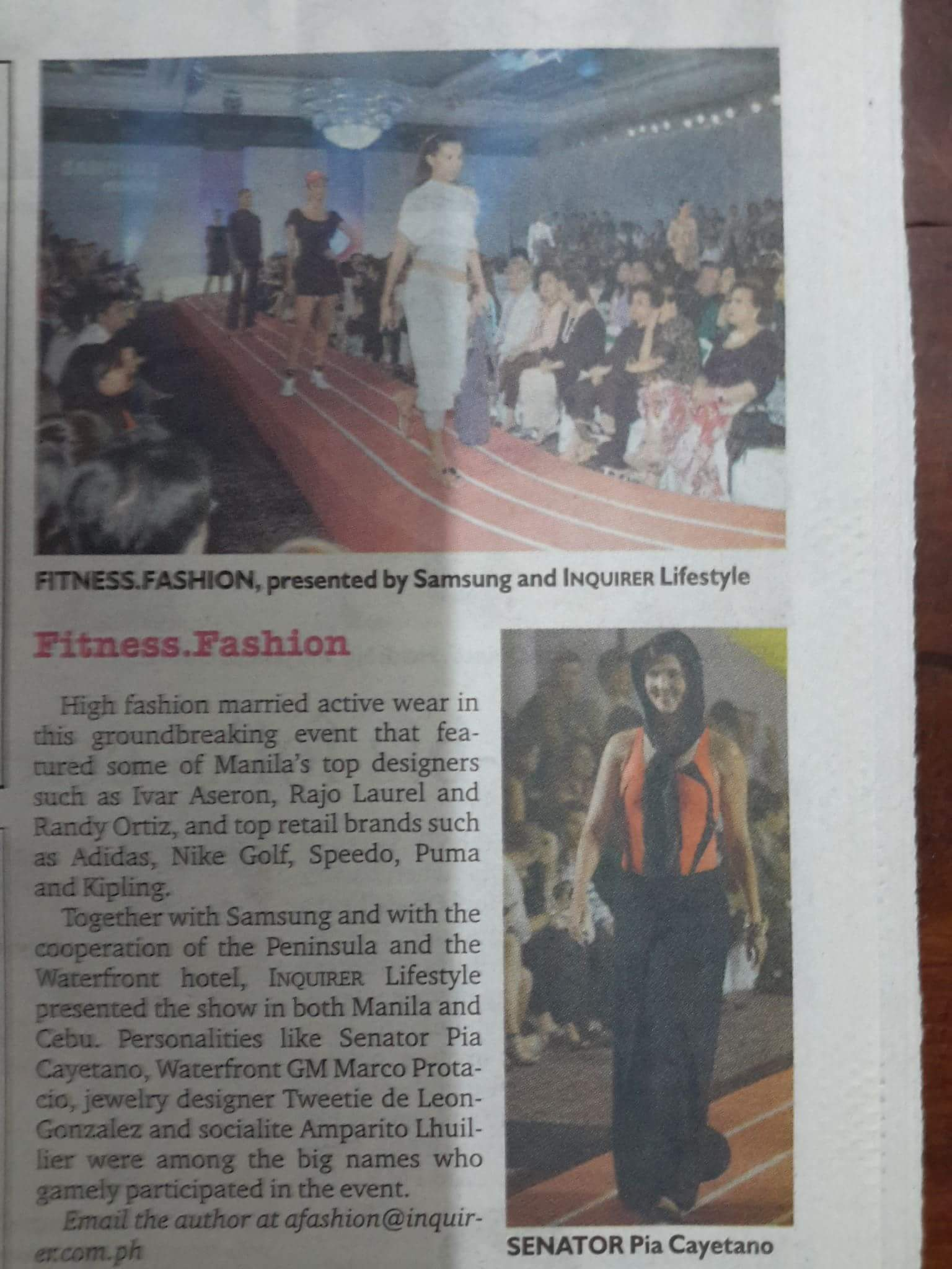 Phoemela Baranda Inquirer Lifestyle Series Fitness Fashion With Samsung