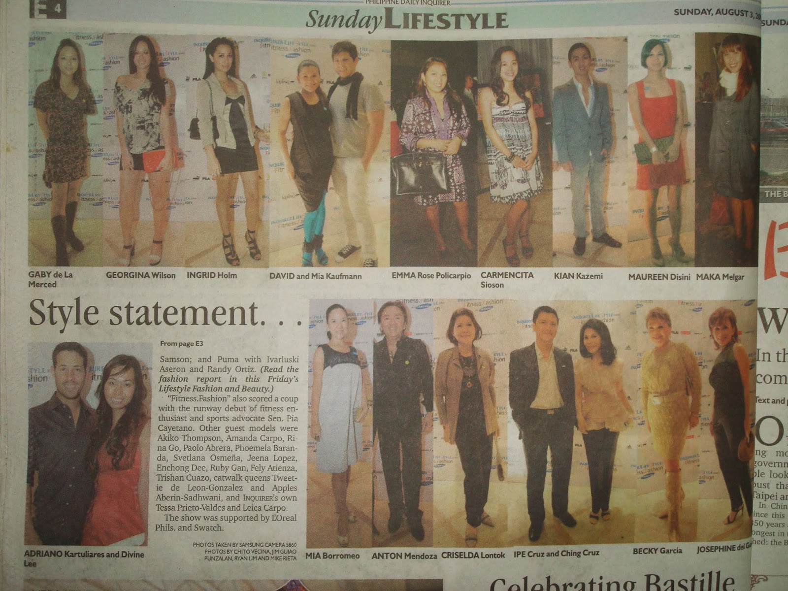 Inquirer Lifestyle Inquirer Lifestyle Series Fitness Fashion With Samsung