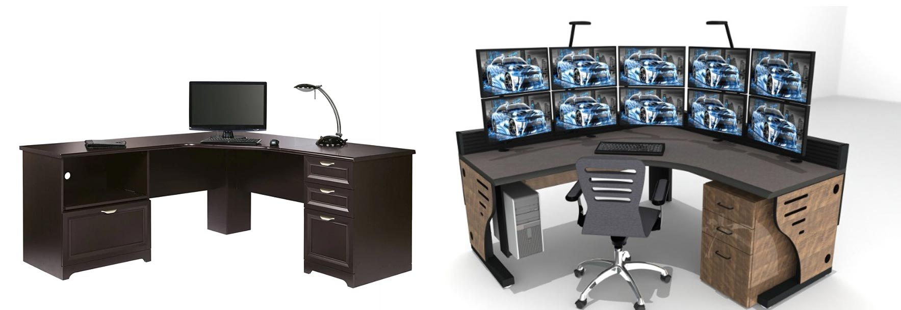 Control Room Desk Vs Specialized Console Furniture