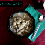 Chicken & Mushroom Stew For the Autumn Chill
