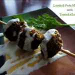 Lamb & Feta Meatballs with Tzatziki Sauce Recipe