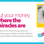 Help Walmart & Pampers Support Children's Miracle Network Hospitals + Giveaway!