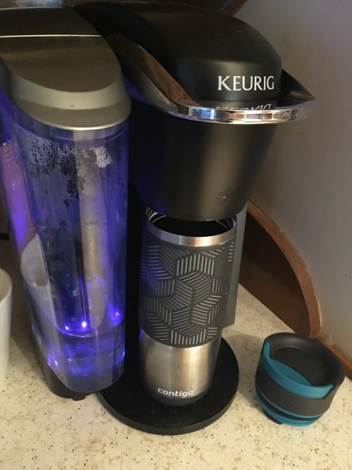 Contigo Travel Mug Fits in a Keurig