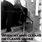 Man cleaning tips Swiffer man Clean