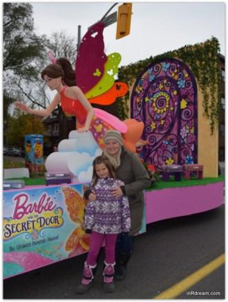 Toronto Santa Claus Parade 2014 Barbie Float Barbie Princess