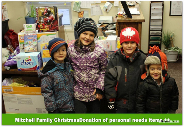 Mountain of Toy Donations A Place Called Home in Kawartha Lakes Ontario