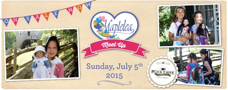 #MapleleaMeetUp at Black Creek Pioneer Village