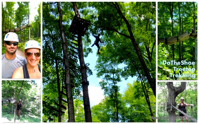 Horseshoe resort Treetop Trekking Review in Barrie Ontario Travel